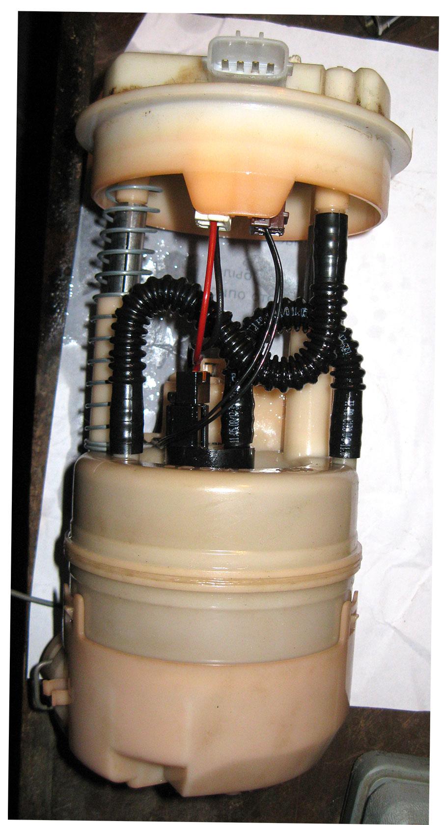 схема подсоединения насоса на баке на соболь